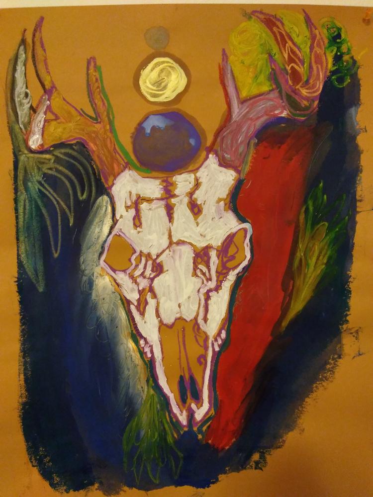 Mazarine Treyz art